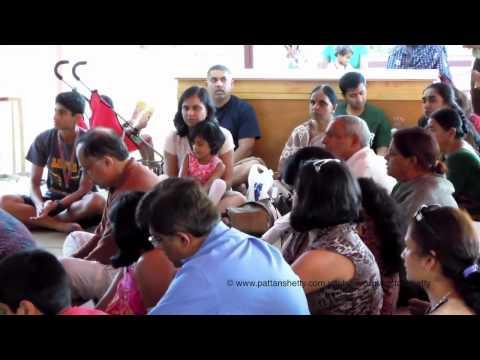 Aarti-Bhajan @ Sankat Mochan Hanuman Temple @ Mt Madonna - Aug 2012