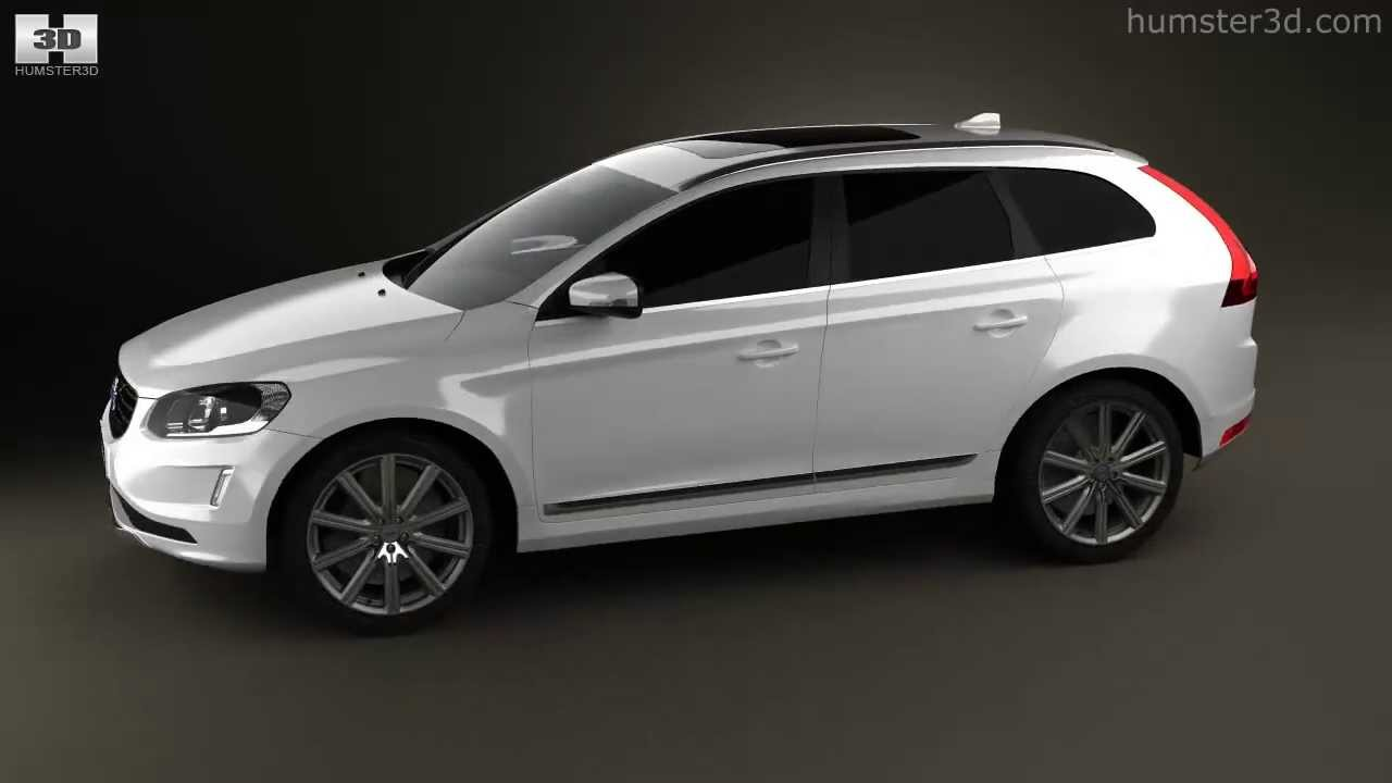 Volvo Xc60 2014 By 3d Model Store Humster3d Com Youtube