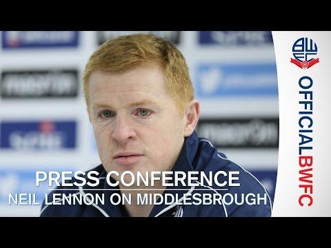 PRESS CONFERENCE | Neil Lennon previews Middlesbrough trip