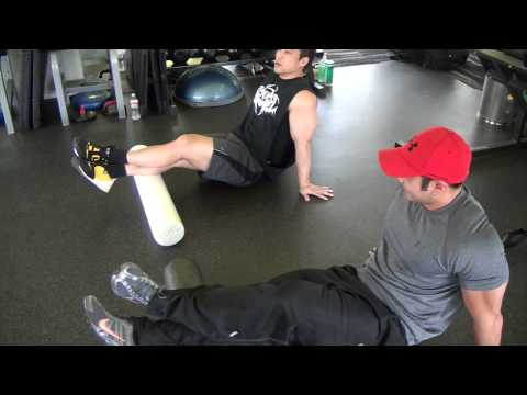 Basic Warm Up for Weight Training: Foam Roller for Legs