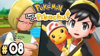 Pokemon Let's Go Pikachu Part 8 MINA FROM ALOLA Walkthrough Gameplay