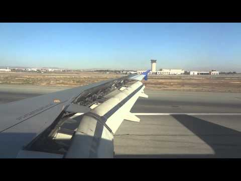 Cyprus Airways Landing at Larnaca, Cyprus
