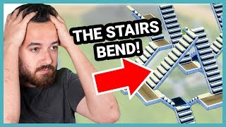 Stop stairing. Click this video and watch me build in The Sims