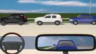 Parallel Parking Demonstration - America's Drivers Ed