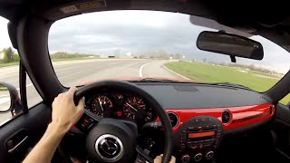 2014 Mazda MX-5 Miata Club - WR TV POV Test Drive 2/3 (Top Up)