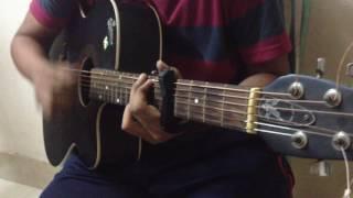 Nirghum Chokh Janalay-Covered with Acoustic Guitar By -ARIYEN NIROB