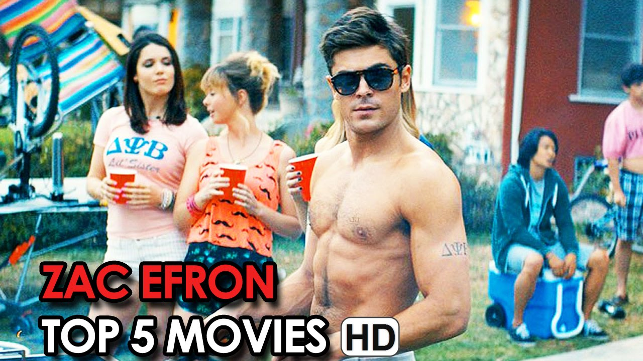 TOP 5 ZAC EFRON MOVIES - What's your favourite Movie? (2015) HD