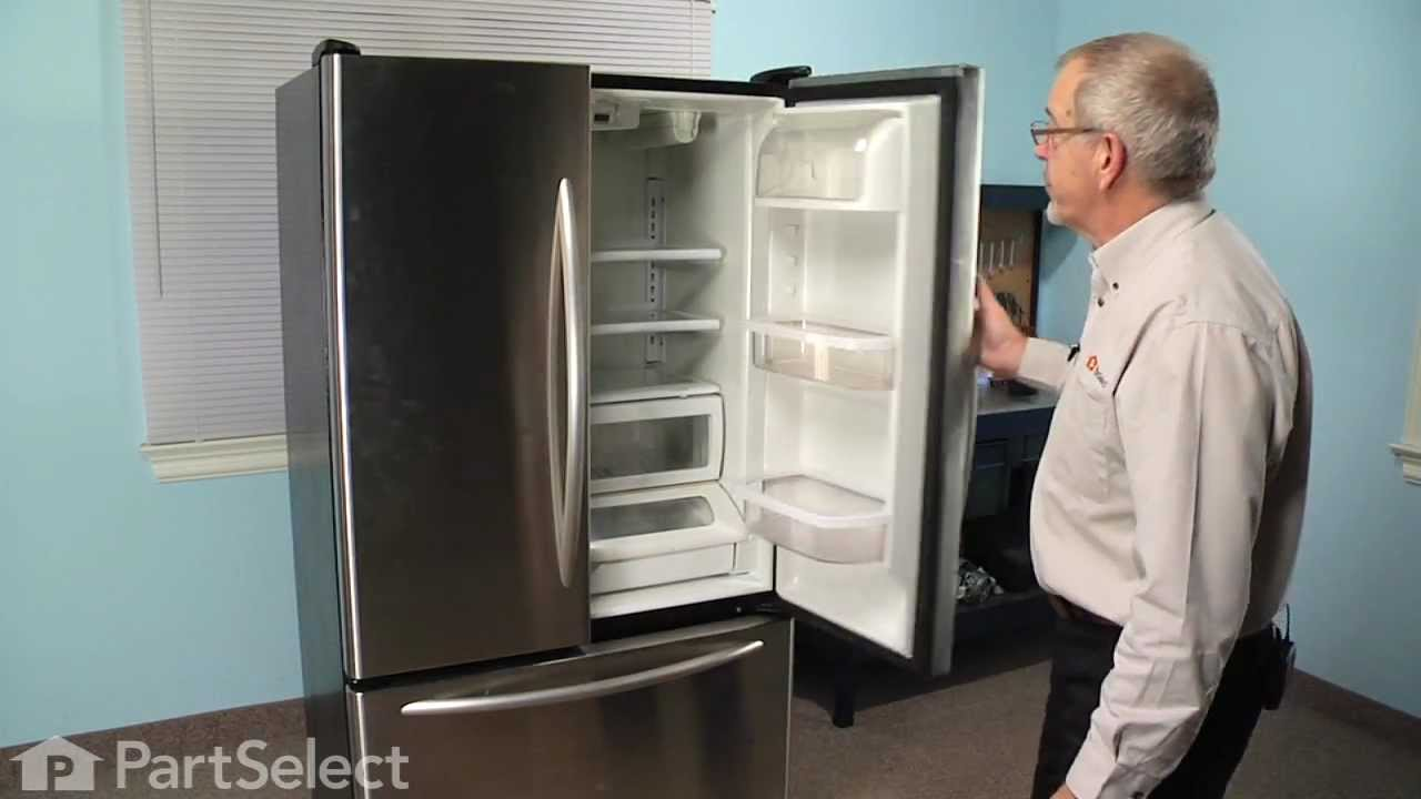 Refrigerator Repair Replacing The Ice And Water Filter