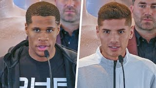 Devin Haney vs. Antonio Moran FINAL PRESS CONFERENCE | DAZN & Sky Sports Boxing