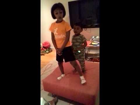 Riya And Arjun Singing Song From Film Frozen! video