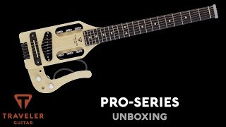 Traveler Guitar Pro-Series Box Opening