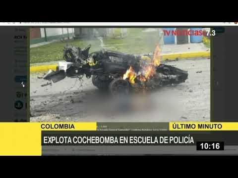 Colombia: 5 muertos y 10 heridos por coche bomba en academia de policía