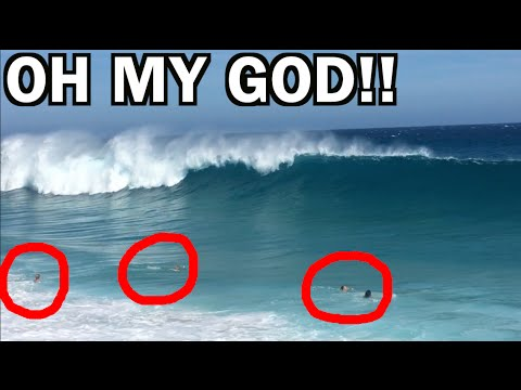 ALMOST DROWNED!!! Big & Scary Shorebreak, Mexico VLog #4