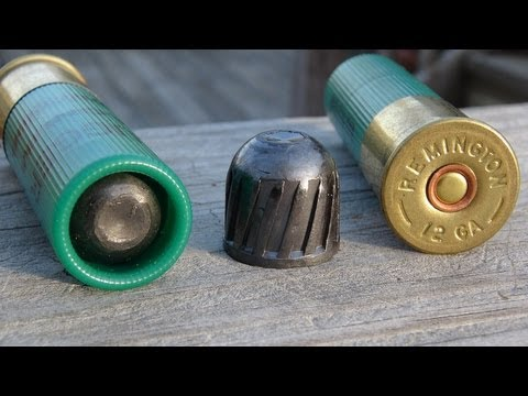 "Remington 12 GA 3"" Magnum Slug Gel Test"