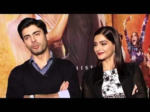 Khoobsurat: Fawad Khan & Sonam Kapoor Exclusive Interview - ll