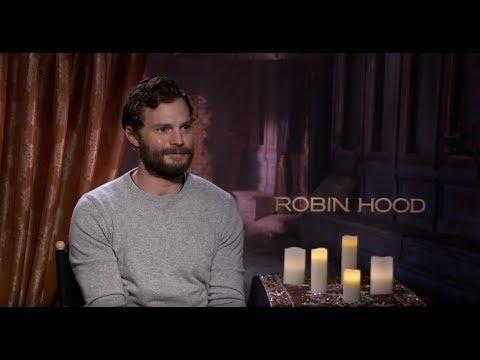 Jamie Dornan - Robin Hood Interview 2