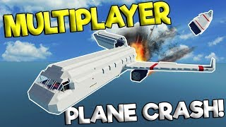 MULTIPLAYER PLANES CRASH & EXPLOSION SURVIVAL! - Stormworks: Build and Rescue Gameplay Survival