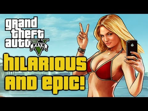 Gta 5 Funny Moment  Attacked By Crossdressers  Gta V Funnies And Fails
