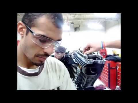 Part 9 How to install Adjustable Pushrods Harley Davidson EVO S&S Jims Revtech