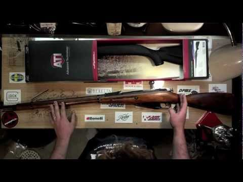 Installing ATI stock on m91/30 Mosin Nagant