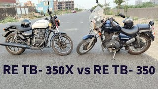 Royal Enfield Thunderbird 350X VS 350 | Which One You Should BUY ? Detailed Points
