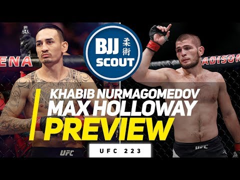 BJJ Scout: Max Holloway v Khabib Nurmagomedov Preview