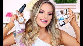MY FAVORITE DRUGSTORE FOUNDATIONS! | Casey Holmes