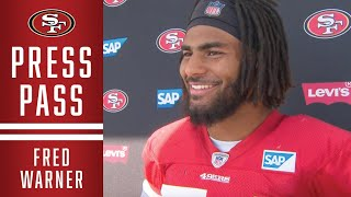 Fred Warner Discusses 49ers Preparations for Saints