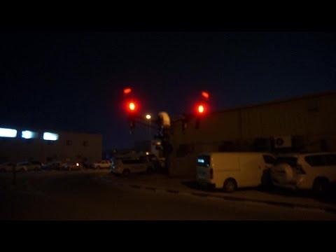 DJI Inspire 1 Pro Flight Testing at night outside Dubai Film Studios
