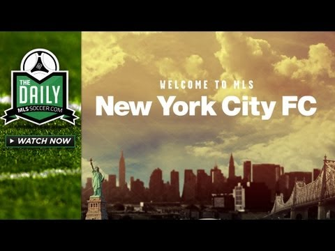 The Daily 5/21 - New York City FC Announcement, Robbie Rogers to LA Galaxy?