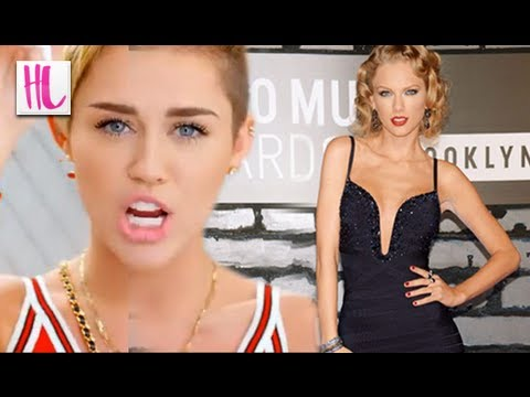 Miley Cyrus Mocks Taylor Swift's Style