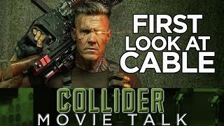 Deadpool 2 First Look At Josh Brolin As Cable - Collider Movie Talk