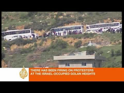 Shooting on Israel-Syria border