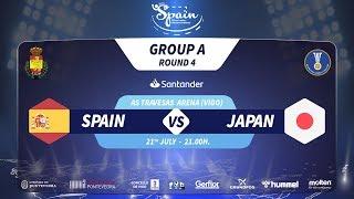 #Handtastic | PR - Group A | Spain : Japan