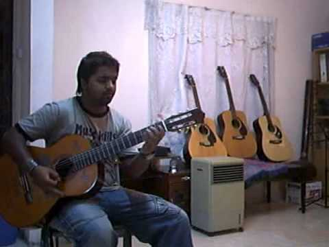 learn how to play Woh Bite Din from the film PURANA MANDIR guitar...
