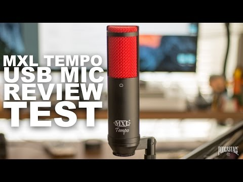 MXL Tempo USB Mic Review / Test