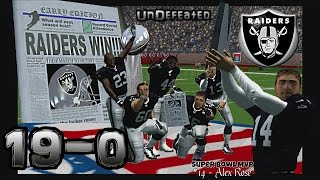 Undefeated Team in Super Bowl Blowout - (HD - 1080p - 60fps - 2K5)