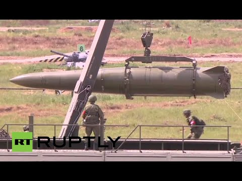 LIVE: Military equipment demonstrated during 'ARMY-2015' expo