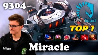 Miracle Timbersaw OWNAGE | 9304 MMR Dota 2