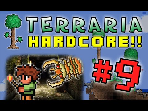 Terraria HC #2! - Part 9 (DUNGEON DEAN!)