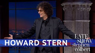 Howard Stern's Triumphant Return To The Late Show