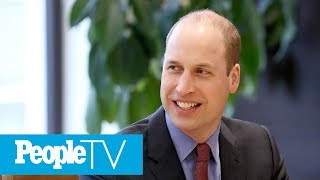Prince William Helps Launch Groundbreaking New App Against Cyberbullying | PeopleTV