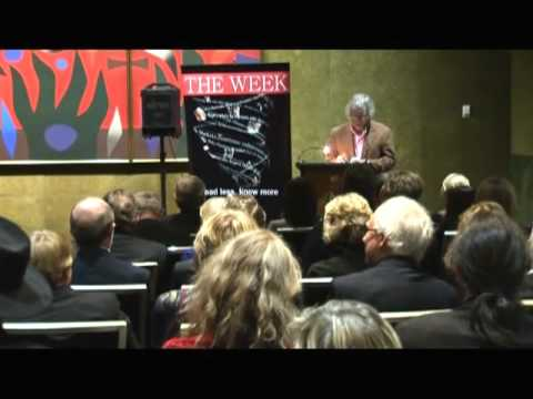 Robert Adamson reads his work at the 2010 NSW Parliament Soire (part 1)