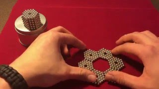 Tutorial on how to make several cool hexagonal shapes (Magnets)