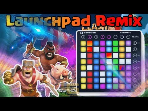 Clash Of Clans Sound Effect Remix [ Launchpad Version ] | Clashing Gaming