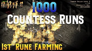 Diablo 2 - 1000 Countess Runs !!!