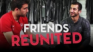 Friends reunited at Arsenal | Mkhitaryan and Sokratis