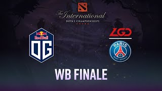 [The International 9] OG vs PSG.LGD - Game 3 - Finale Upper Bracket - #TI9FR