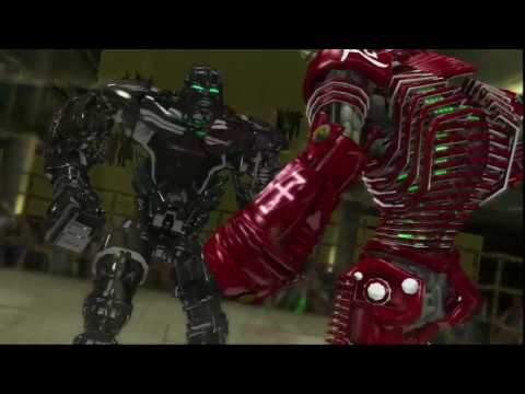 Real Steel-Red NOISY BOY vs Black ZEUS & New ATOM vs Red NOISY BOY(ЖИВАЯ СТАЛЬ)