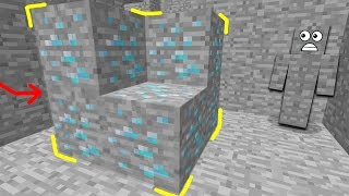 VANISHING DIAMONDS MINECRAFT TROLL!